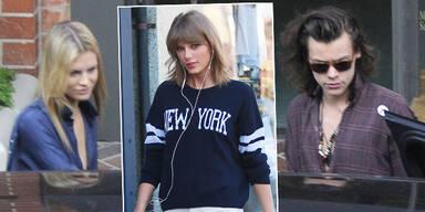 Harry Styles, Nadine Leopold, Taylor Swift