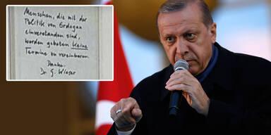 Tiroler Zahnarzt will keine Erdogan-Wähler