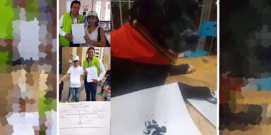 Hund Negro  Kolumbien Verfassunsgbeschwerde
