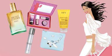 Pack die Beauty-Tasch ein!