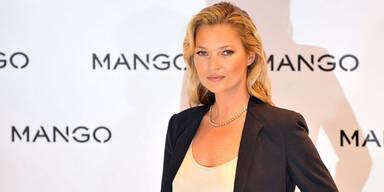 Kate Moss modelt wieder für Mango