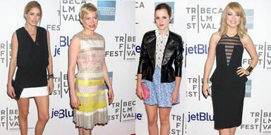 Starlooks beim Tribeca Film Festival 2012