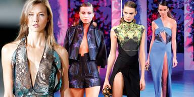 Heißer Modewoche-Start in Paris