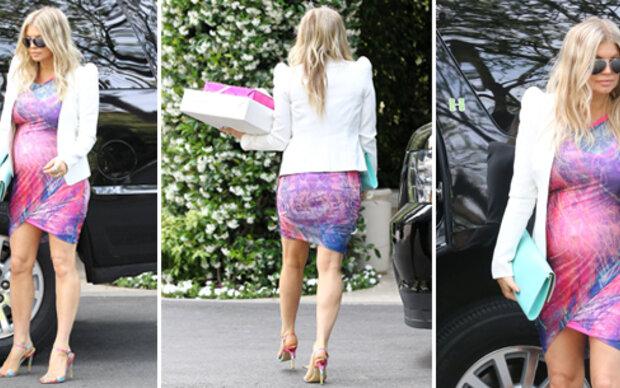 Fergie: Top-Figur & Styling im 7. Monat