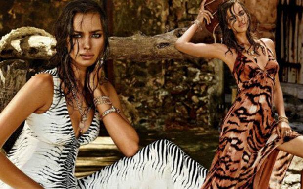 Irina Shayk modelt für Roberto Cavalli