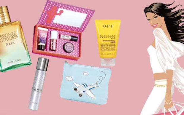 Pack die Beauty-Tasche ein!