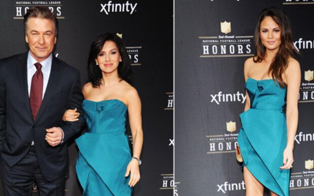 Im gleichen Kleid beim gleichen Event