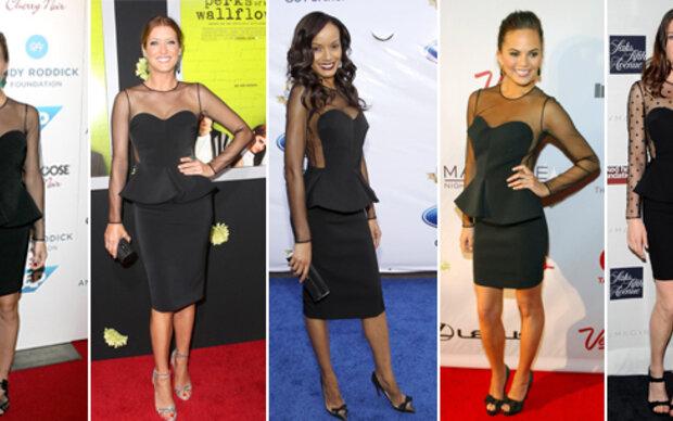 5 Ladies in Black