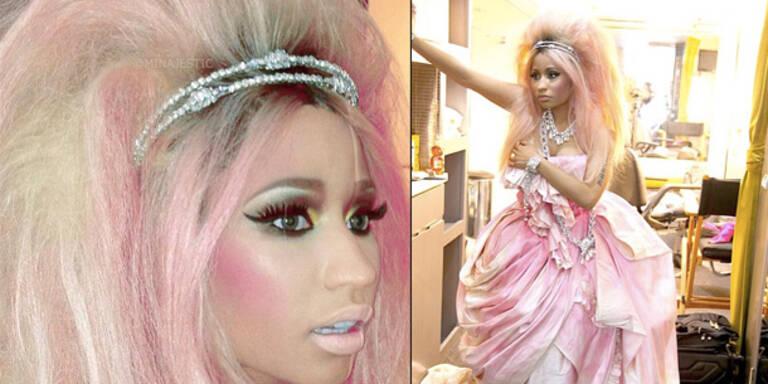 Nicki Minaj: Mehr Make Up als Gesicht