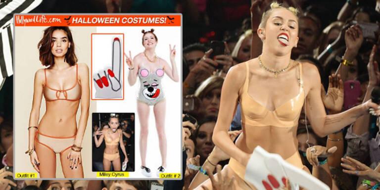 Miley gibt's jetzt auch als Halloween-Kostüm