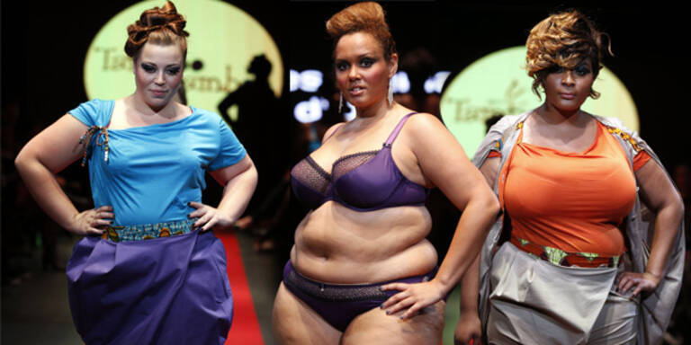 Erste Fashion Week für Übergewichtige in Paris