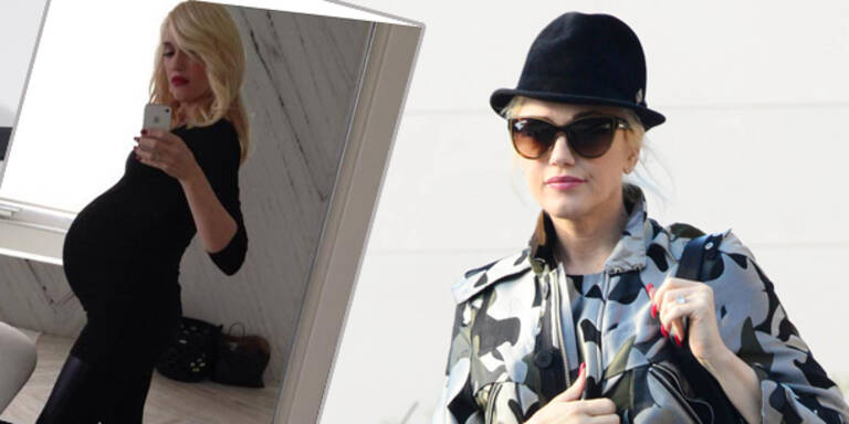 Gwen Stefani zeigt Babybauch-Selfie