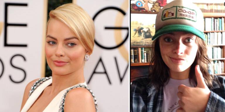 Margot Robbie: Von blond zu brünettem Teenie