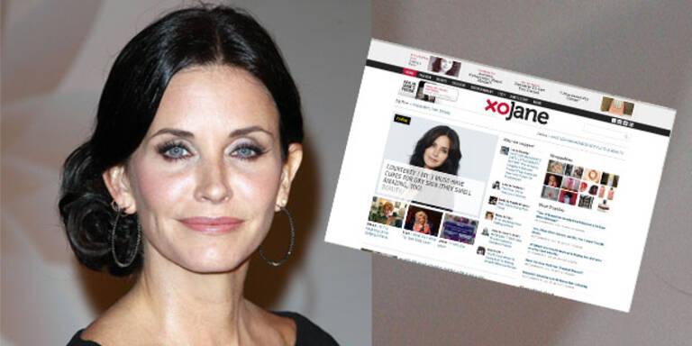 Courteney Cox launcht Beauty-Site