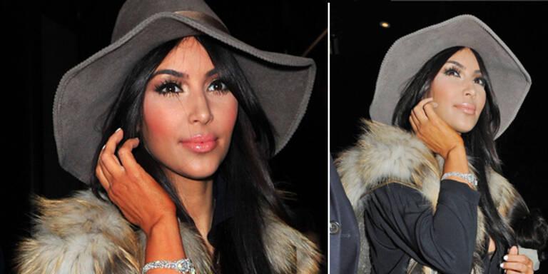 Kim Kardashians Selbstbräuner-Unfall