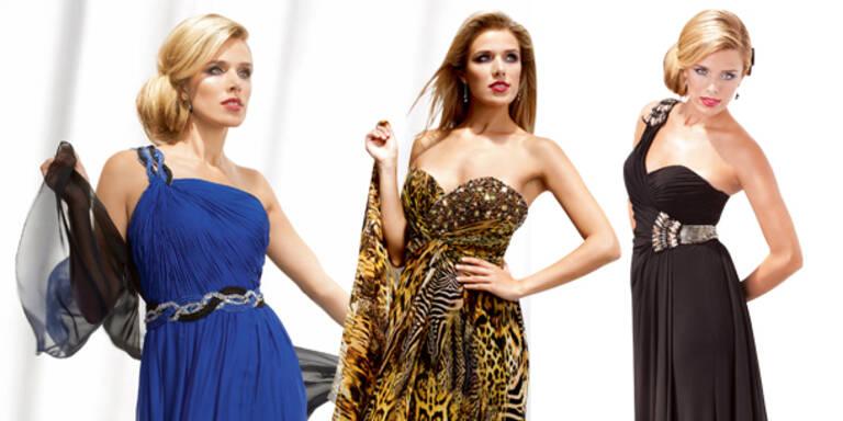 Miss Austria zeigt Roben-Trends