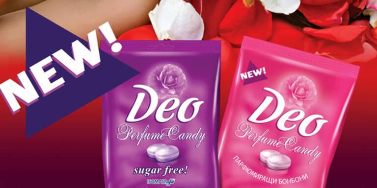 Mit Deo-Parfum Zuckerl gut riechen