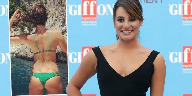 Lea Michele: Von ihrem Po besessen