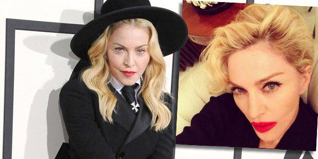 Madonna: Lippen aufgespritzt?