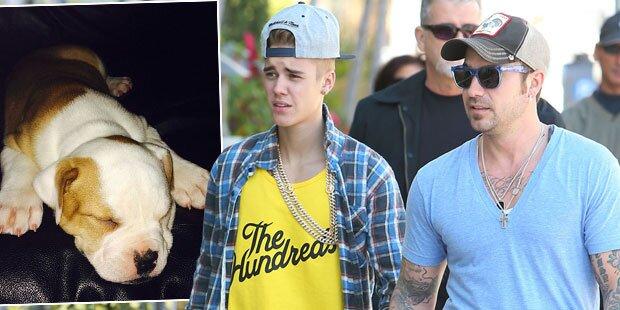 Bieber-Vater warf Hund vom Balkon