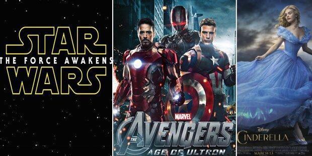 Superjahr für Disney: 12 neue Filme