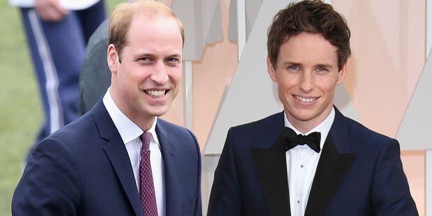 Eddie Redmayne über Schulzeit mit Prinz William