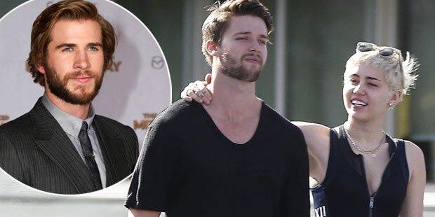 Liam Hemsworth warnt Arnie-Sohn vor Miley Cyrus