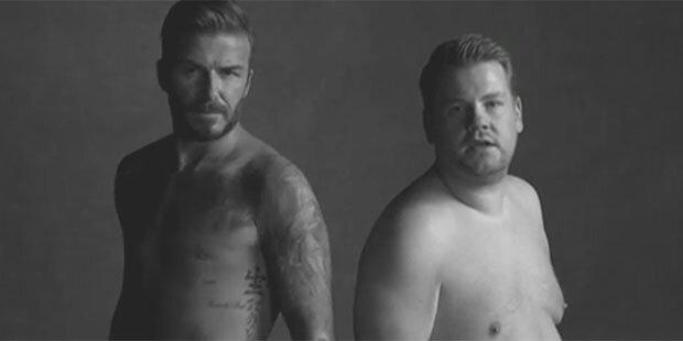 Beckham: Nackt zum Internet-Hit