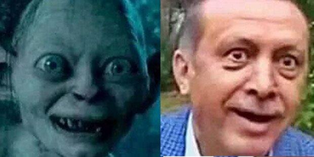 Gericht prüft Vergleich Erdogan - Gollum
