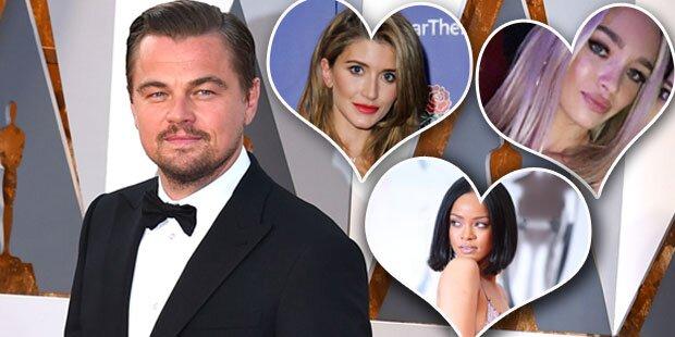 Leo DiCaprio in allen Betten vermutet