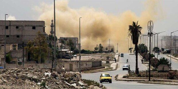 Dutzende Tote bei Luftangriff auf Flüchtlingslager