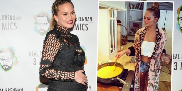 Chrissy Teigen: So schlank nach Geburt