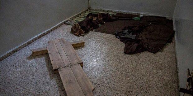 So grausam foltert ISIS seine Gegner