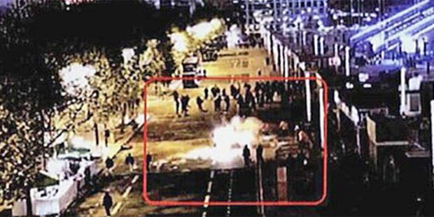Erstes Foto zeigt Moment des Anschlags