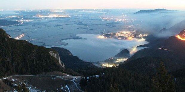 Wanderer steckt 100 Hektar Wald in Brand