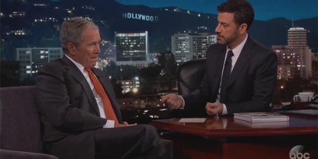 Aliens: Verplappert sich hier George Bush?