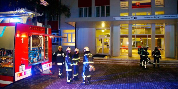 Brandalarm in Mödlinger HTL: 150 Schüler evakuiert