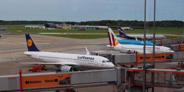 Flüchtlinge legten Hamburger Flughafen lahm