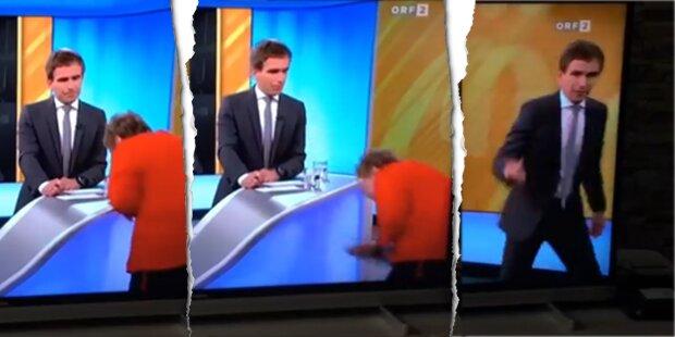 Talk-Gast kippt in ORF-Show um