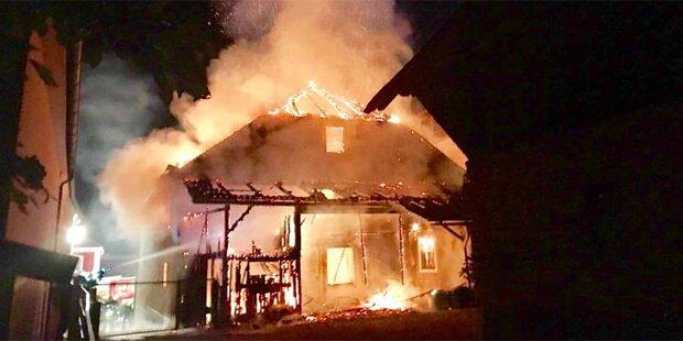 Nachbarn retteten Bewohner aus Flammen-Inferno