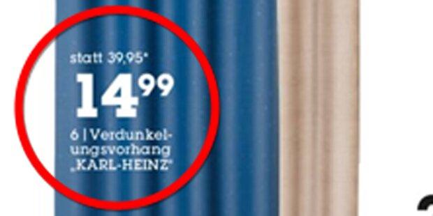 Netz lacht sich über Verdunkelungsvorhang 'Karl-Heinz' kaputt