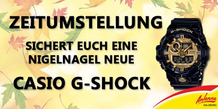 Holt euch coole Casio G-Shock