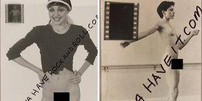 Madonna: Nackt-Bilder werden versteigert