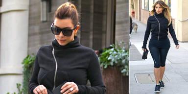 Kim: Winterspeck weg mit Atkins