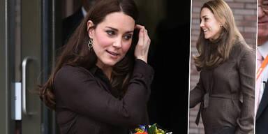 Herzogin Kate zeigt Babybauch