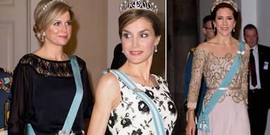 Royals feiern Königin Margrethe von Dänemark