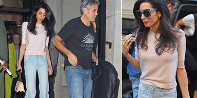 Amal Clooney wird immer dünner