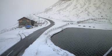 Kälteeinbruch: Wo jetzt schon Schnee liegt