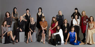 Internationale Vogue-Chefinnen