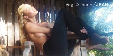 Candice Swanepoel für Rag & Bone